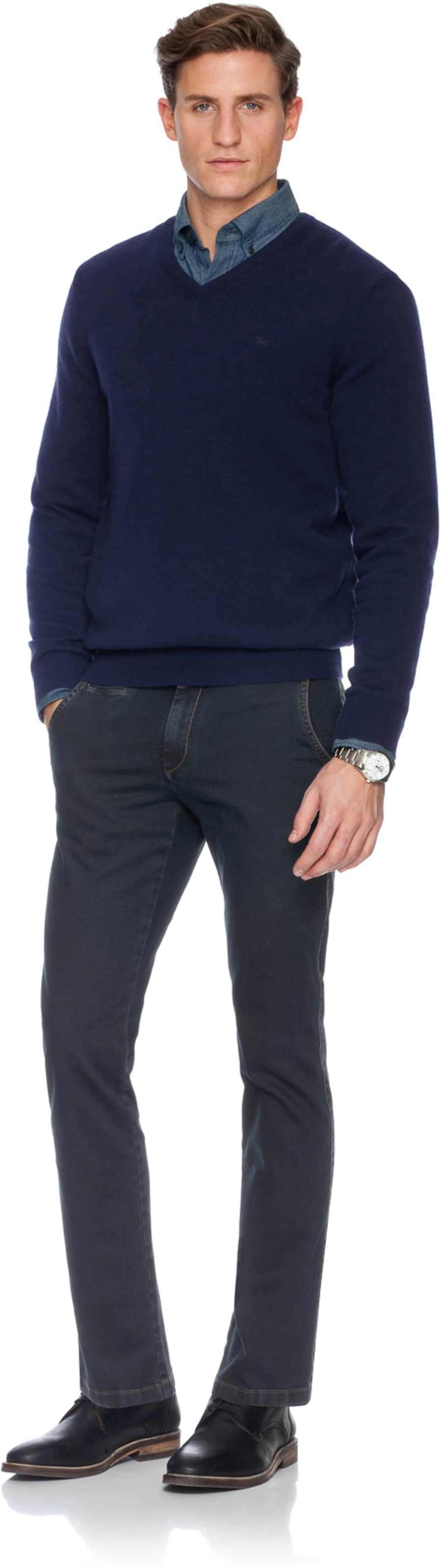 Brax In Chinohose 'everest D' Navy 0w8nvmN