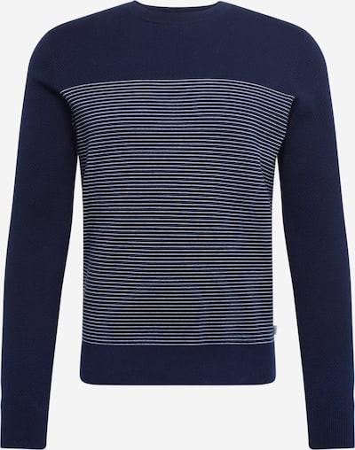 TOM TAILOR Pullover in schwarz / weiß, Produktansicht