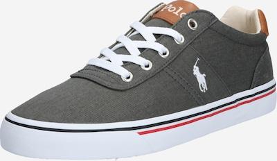 POLO RALPH LAUREN Sneakers laag 'HANFORD' in de kleur Grijs / Wit, Productweergave