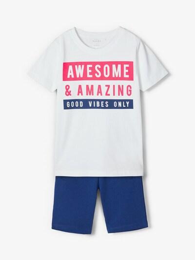 NAME IT Shorts-Set in blau / pink, Produktansicht