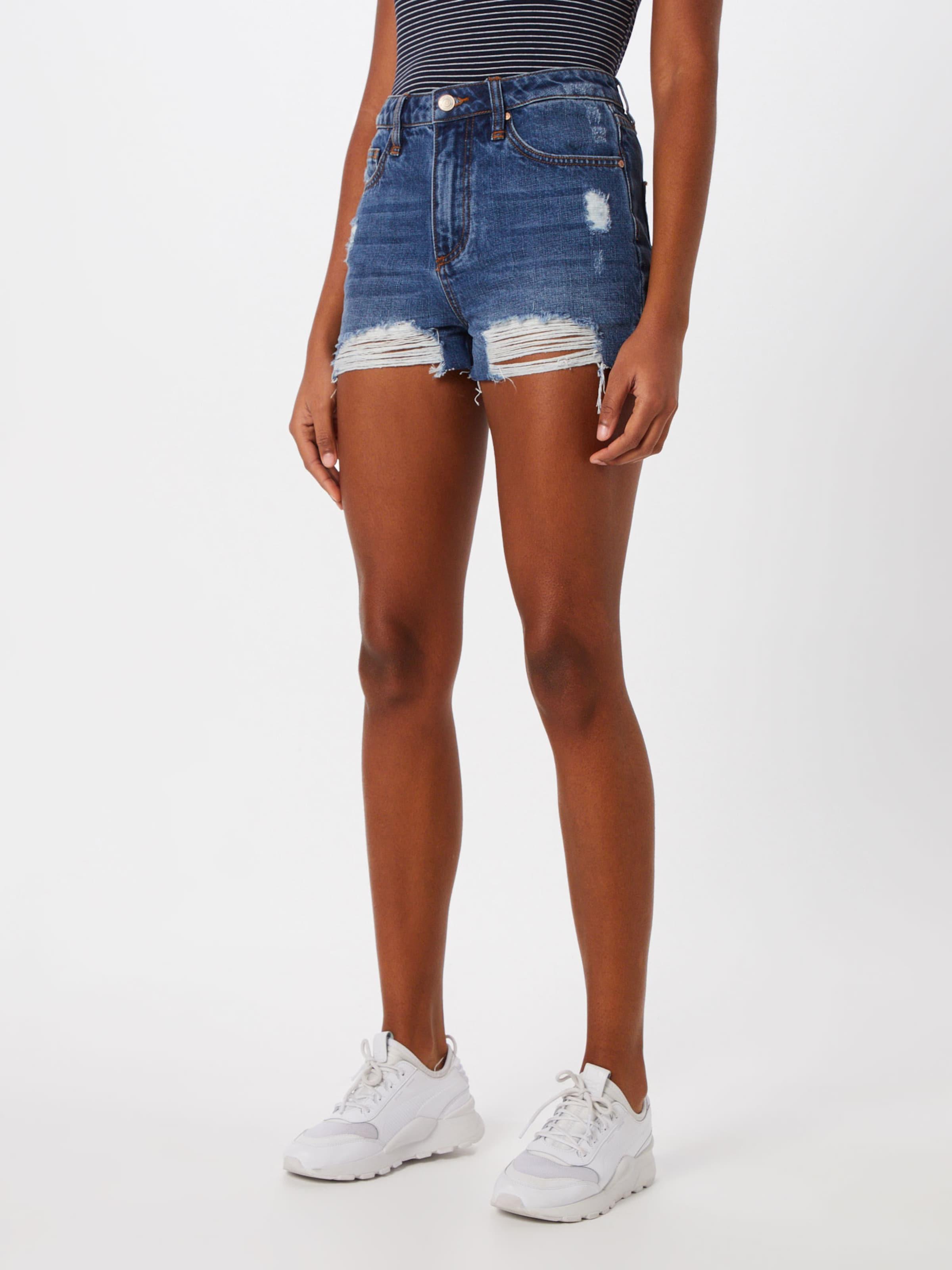 Blue Denim Shorts In Funky Buddha mn8w0N