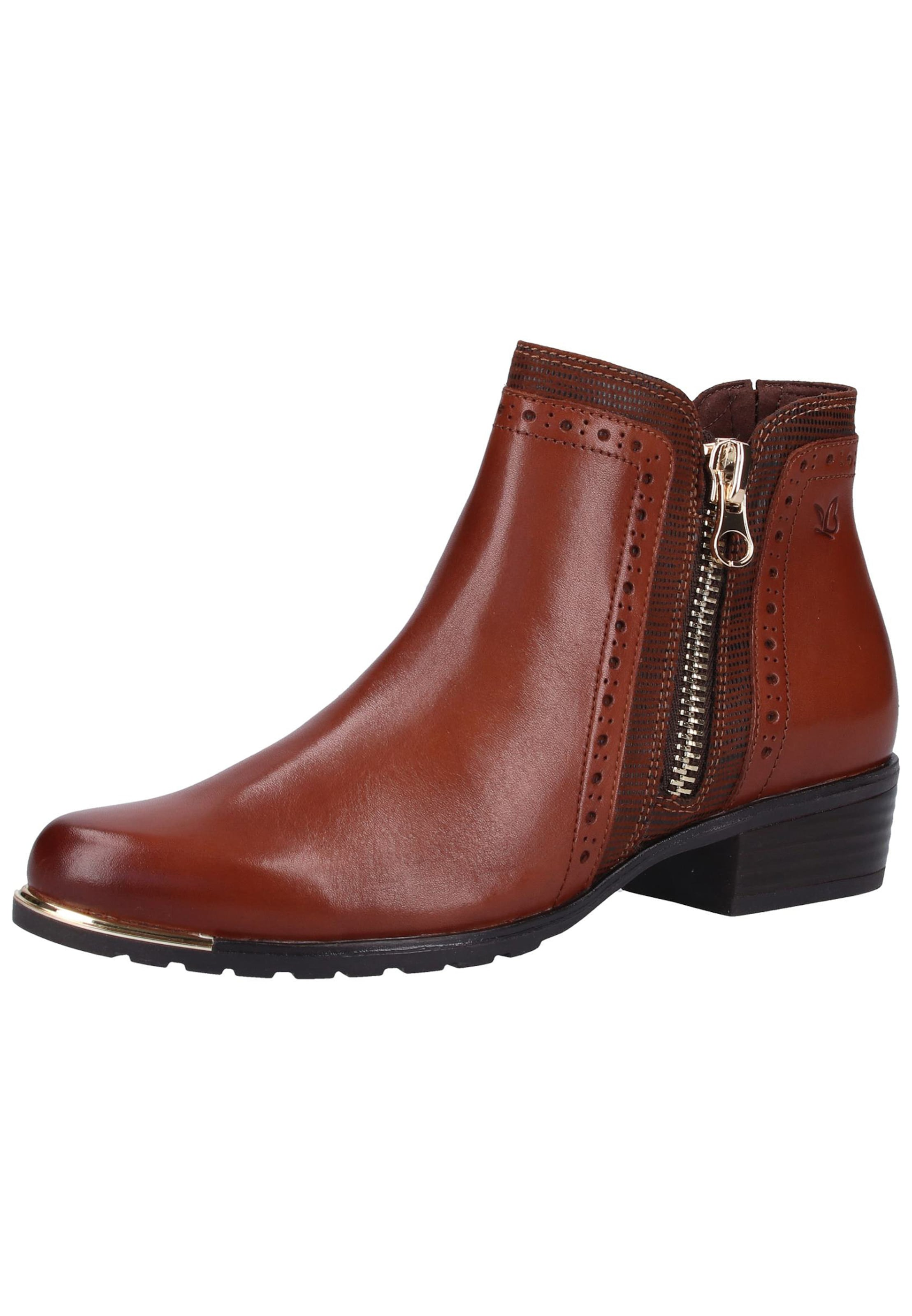CAPRICE Ankle Stiefel in rostbraun