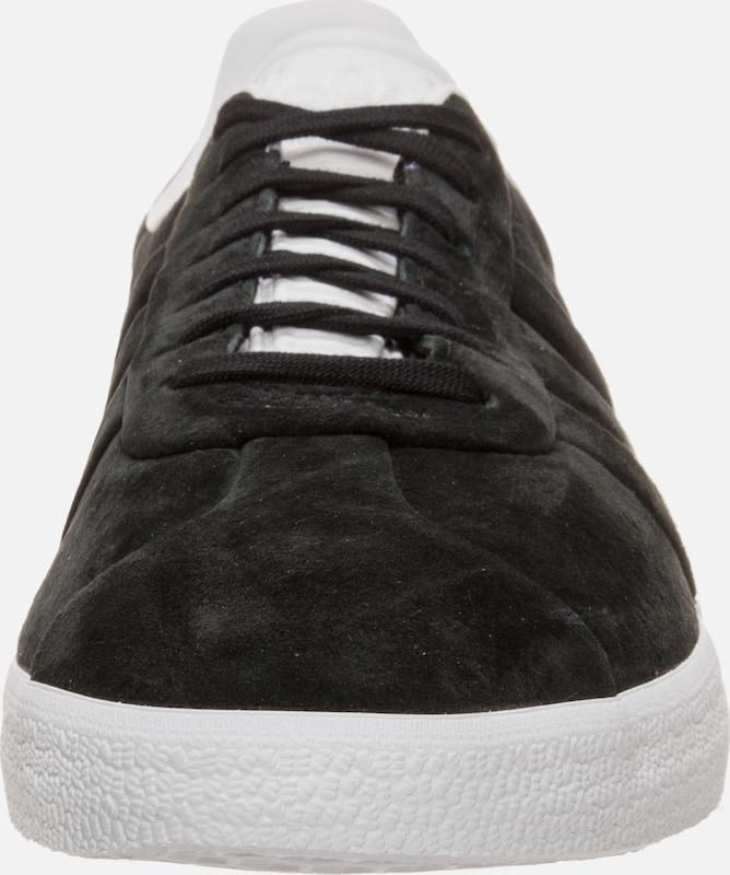 Turn' Adidas Originals Sneaker And Schwarz 'gazelle Stitch fUfnrIq