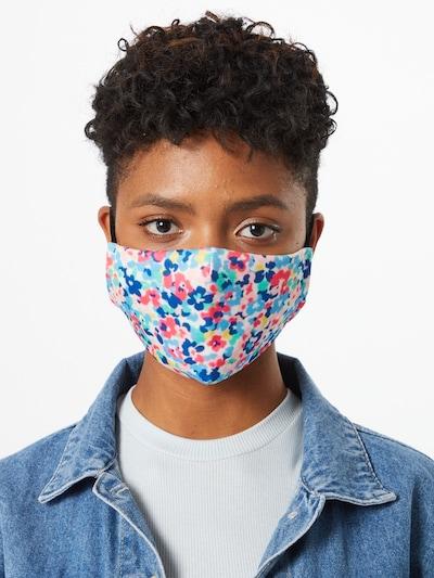 Mască de stofă 'Flower 1' Hailys pe culori mixte: Privire frontală