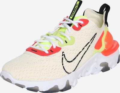 Sneaker low 'Nike React Vision' Nike Sportswear pe bej: Privire frontală