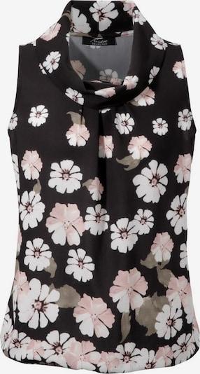 Aniston SELECTED Bluse in schwarz / weiß, Produktansicht