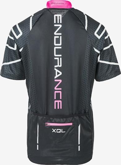 ENDURANCE Radtrikot Keynes mit QUICK-DRY-Technologie in pink / schwarz, Produktansicht