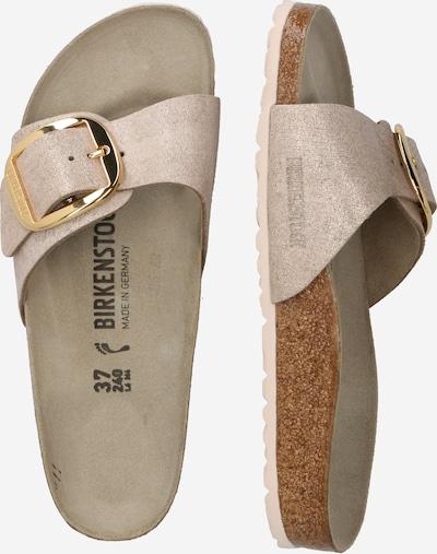 BIRKENSTOCK Pantofle 'Madrid' - hnědá / režná, Produkt