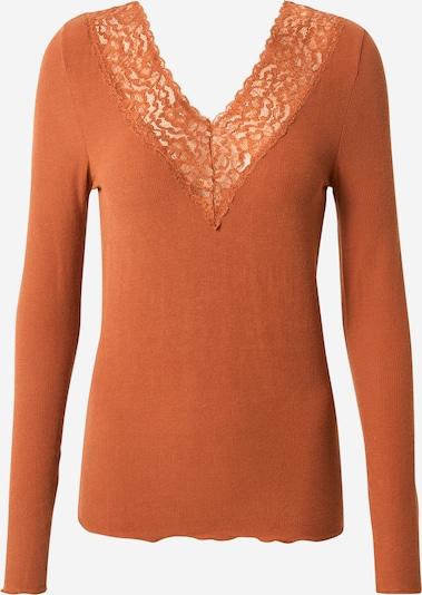 PIECES Shirt in karamell, Produktansicht