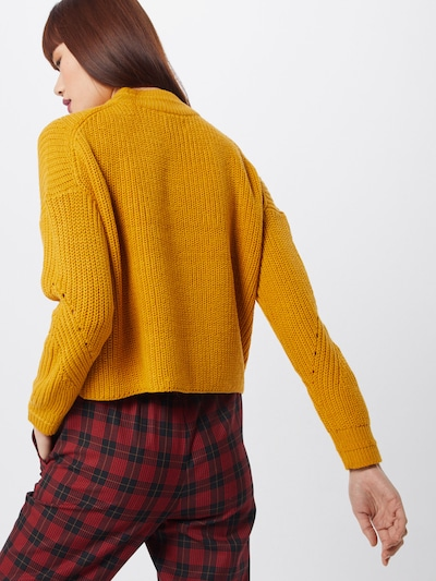 ONLY Pull-over 'RILEY' en moutarde: Vue de dos
