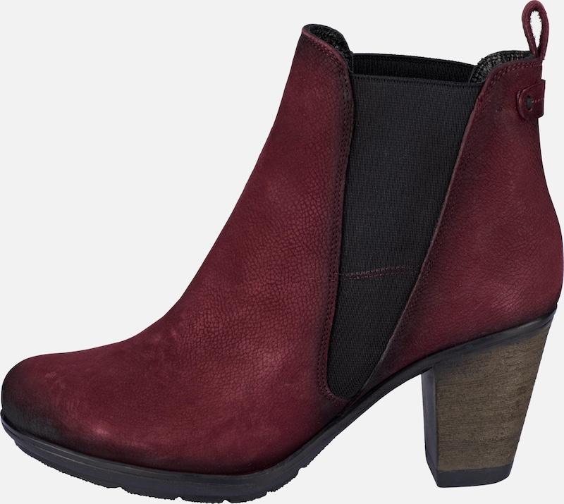 ANDREA CONTI   Stiefelette mit Prägung Schuhe Gut getragene Schuhe
