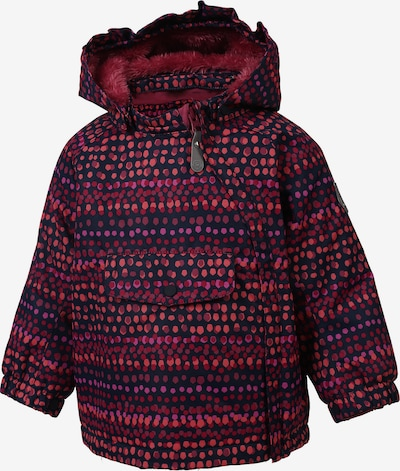 COLOR KIDS Skijacke 'Raidoni' in pink / merlot, Produktansicht