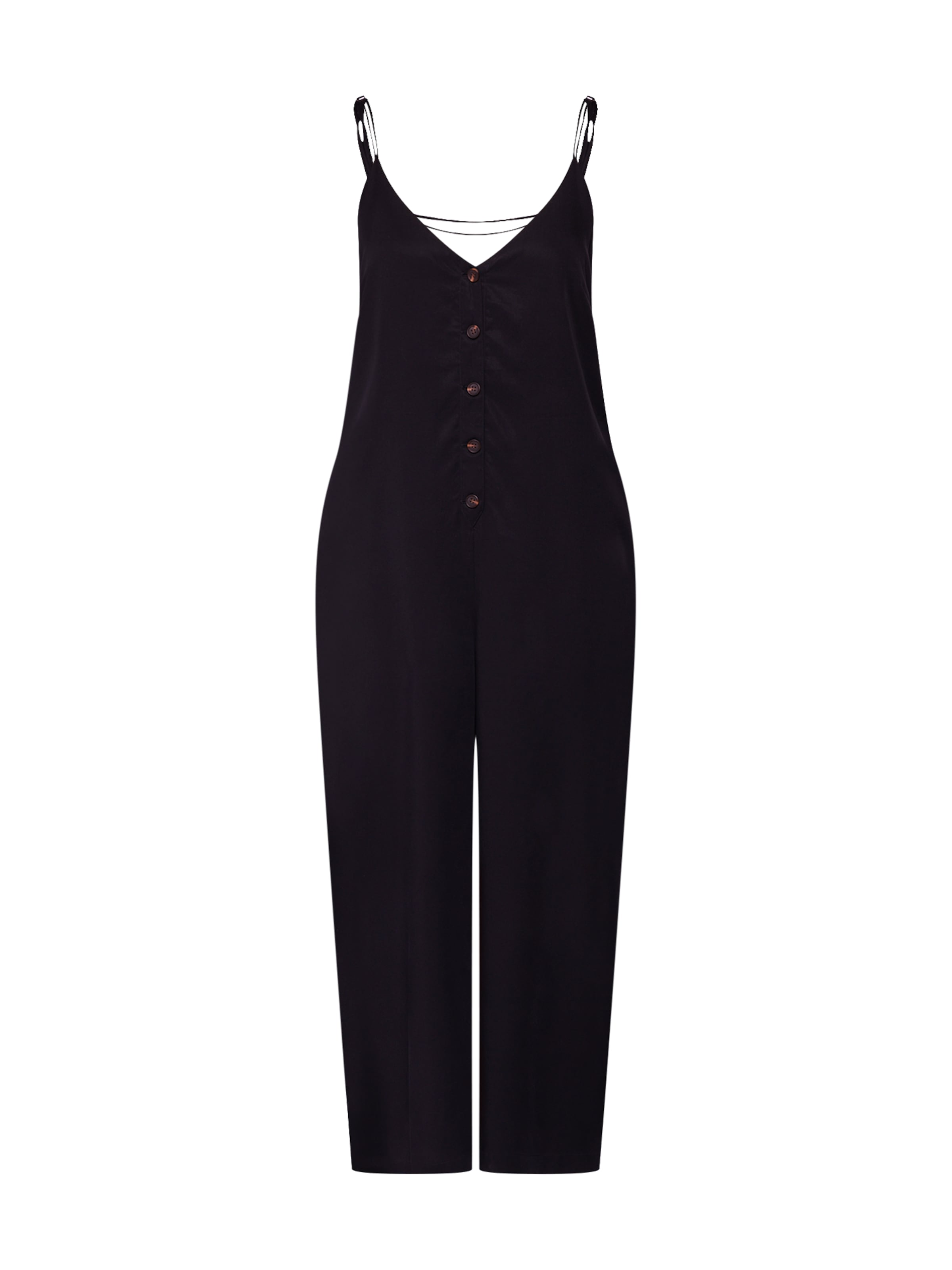'tencel Minkpink Overall In Jumpsuit' Schwarz QsdChxtrBo