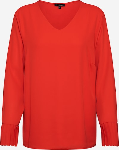 MORE & MORE Blouse 'Pleated Blouse Shirt' in de kleur Perzik / Oranjerood, Productweergave