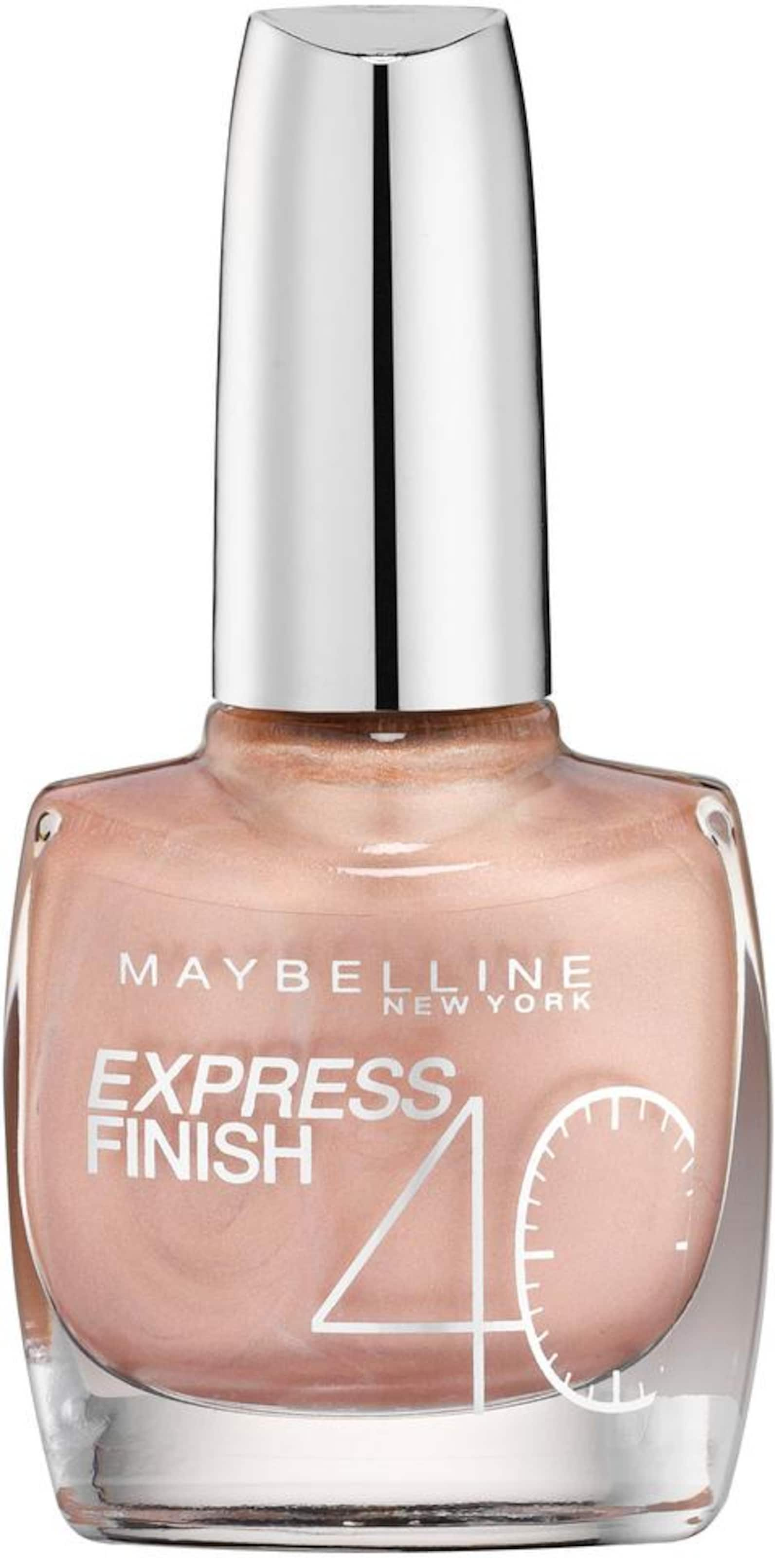 'nagellack Express New Shock Control'Nagellack Chamois Maybelline Finish York In H9WD2IE