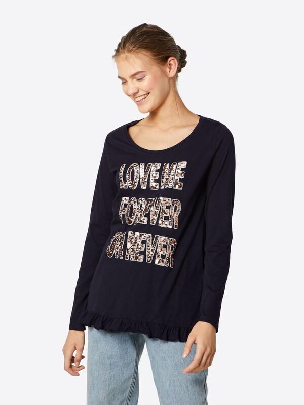'longsleeve' Foncé shirt En Royal Bleu Richamp; T 6mYfbgyIv7