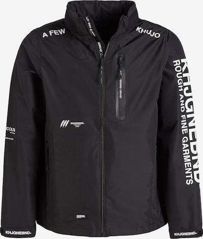 khujo Tussenjas ' WATSON ' in de kleur Zwart, Productweergave