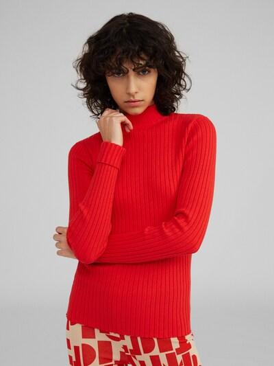 Pulover 'Jannice' EDITED pe roșu, Vizualizare model