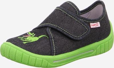 SUPERFIT Schuhe 'BILL' in hellgrün / schwarz, Produktansicht