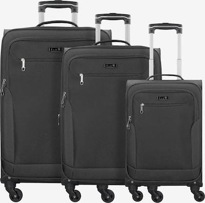 D&N Kofferset in hellgrün / schwarz, Produktansicht