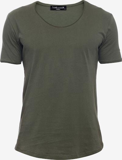 Tom Barron Rundhalsshirt in khaki, Produktansicht