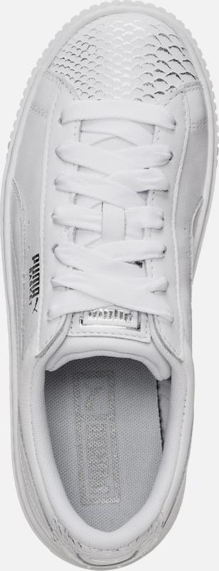 PUMA Sneaker Basket Platform Ocean Hohe Qualität