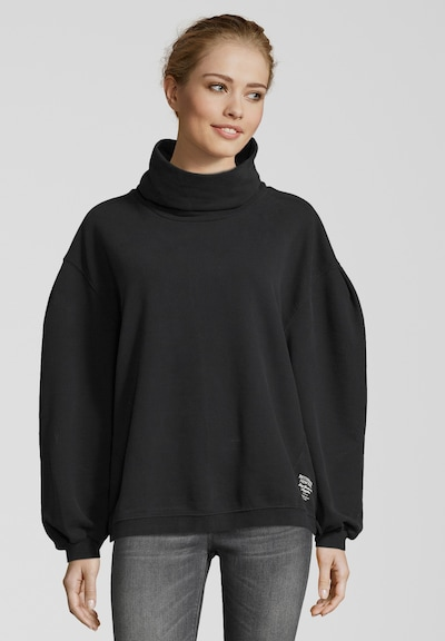 BETTER RICH Sweatshirt in schwarz: Frontalansicht