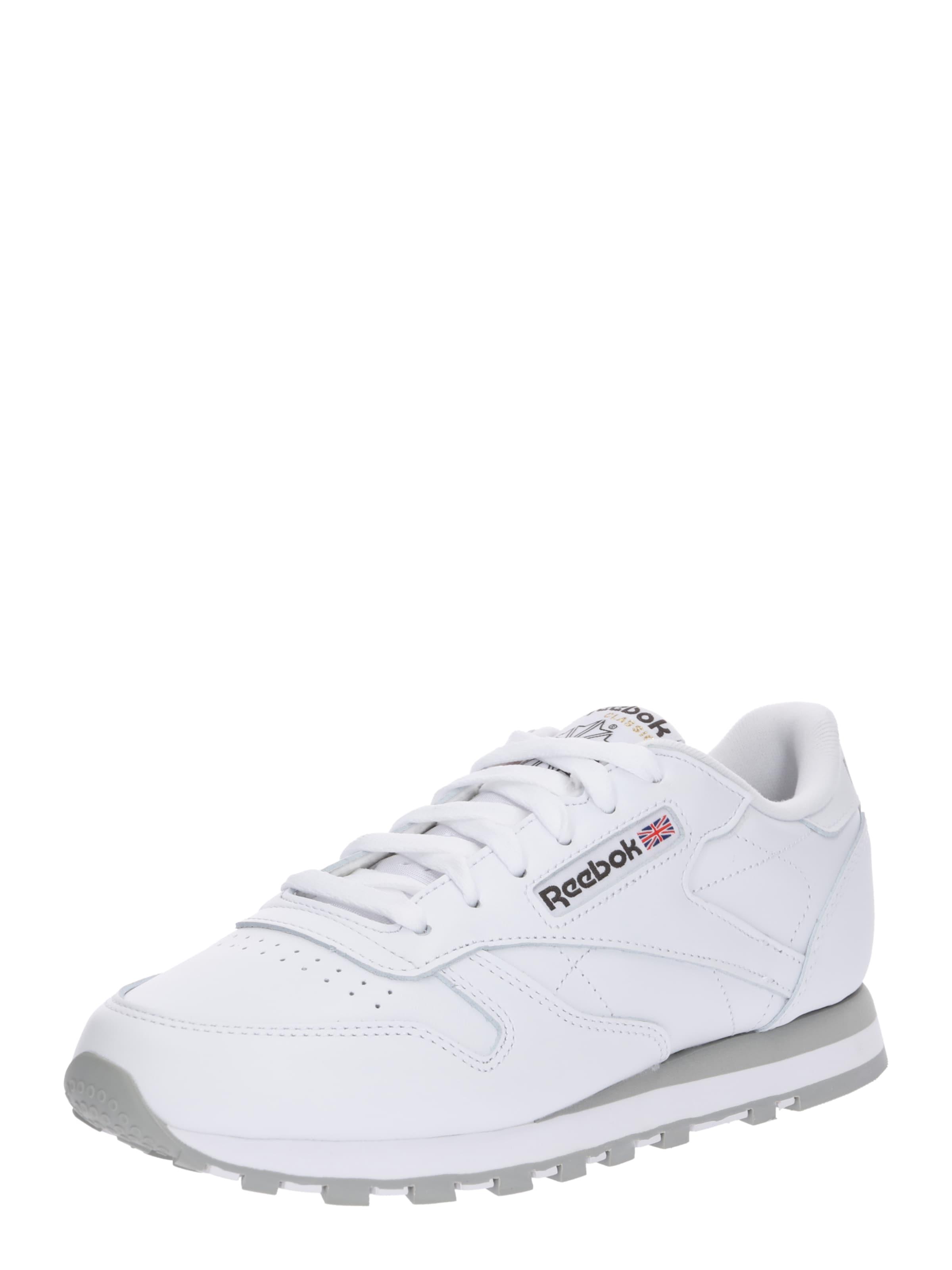 In Lthr' HellgrauWeiß Reebok Sneaker Classic 'cl TFlK315uJc