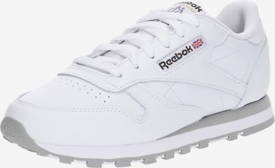 REEBOK Sneakers low 'Classic Leather' in Grey / White, Item view