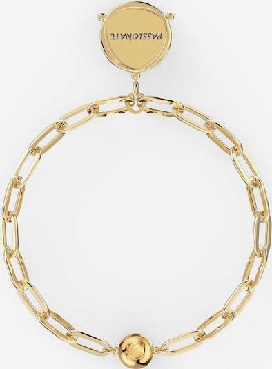 Swarovski Armband in gold, Produktansicht