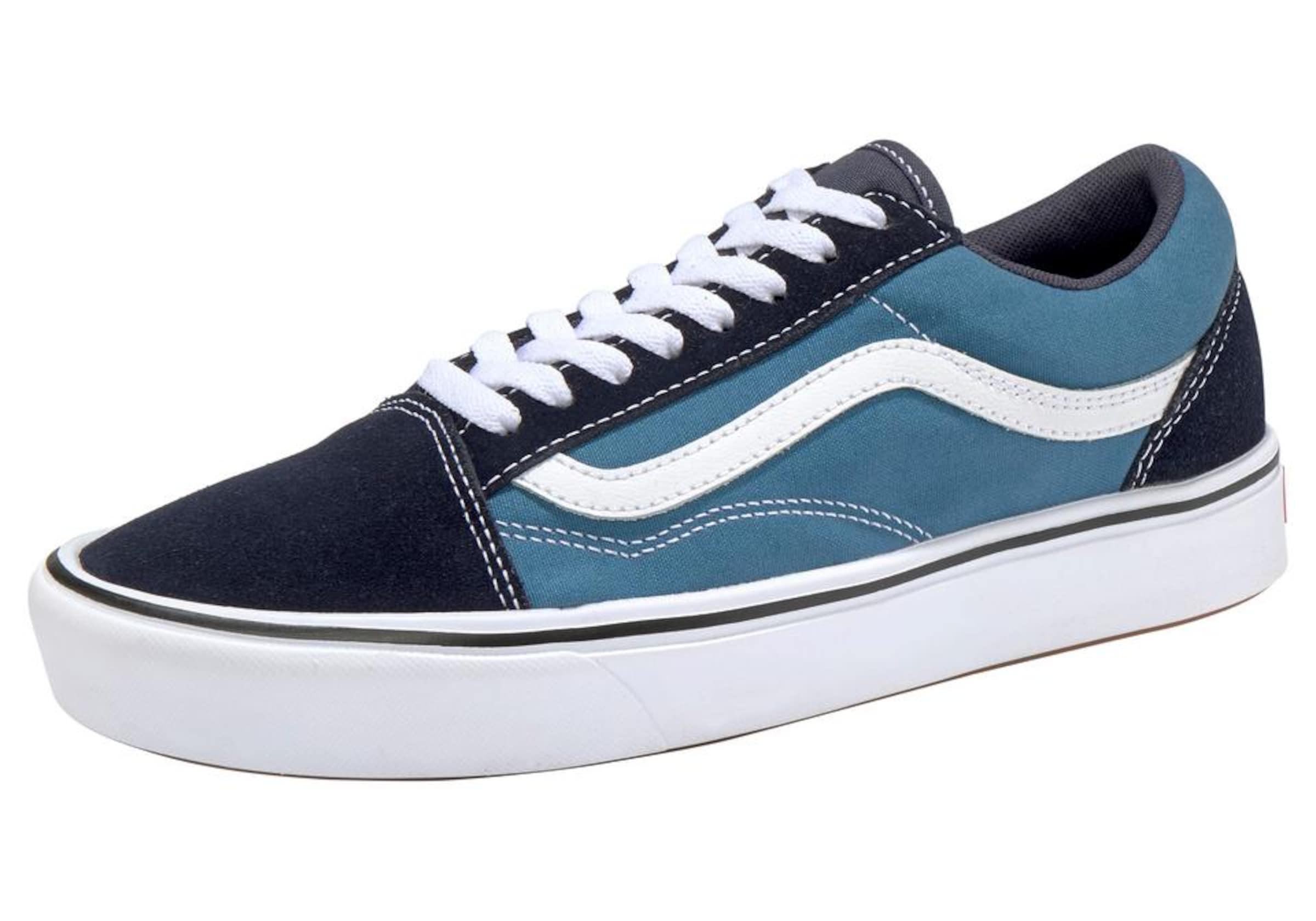 Skool' Cush NachtblauHimmelblau Weiß Vans Old 'comfy Sneaker In IWEDH29Y