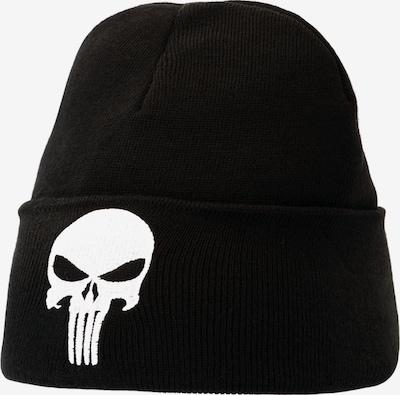 LOGOSHIRT Mütze in schwarz / weiß, Produktansicht