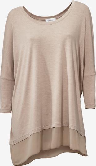 heine Shirt in hellbeige, Produktansicht