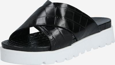 Kennel & Schmenger Mule 'Gio X' en noir / blanc, Vue avec produit