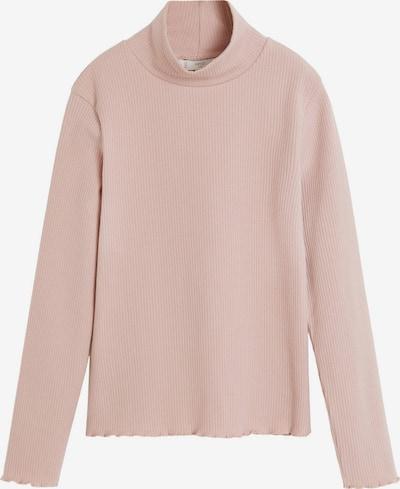 MANGO KIDS Sweter 'CAMISETA TURBORIB' w kolorze różowy pudrowym, Podgląd produktu