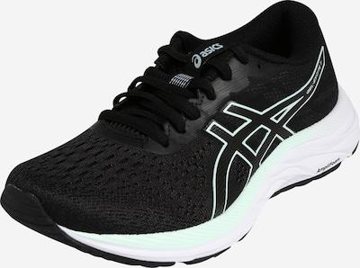 ASICS Chaussure de course 'Gel-Excite 7' en noir / blanc, Vue avec produit