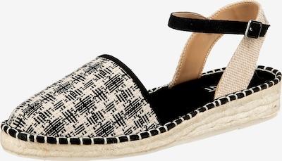 ESPRIT Sandale 'Ines' in beige / schwarz, Produktansicht