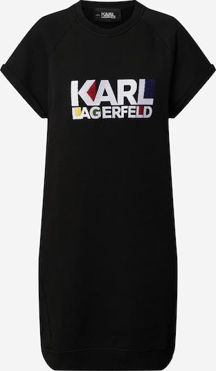 Karl Lagerfeld Robe 'bauhaus logo' en noir, Vue avec produit