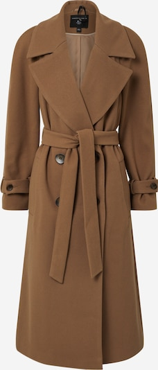 Dorothy Perkins Mantel 'GREEN DOUBLE BREASTED BELTED WRAP COAT' in beige, Produktansicht