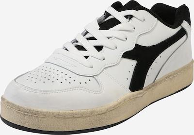 Diadora Chaussure de sport 'MI BASKET' en noir / blanc, Vue avec produit