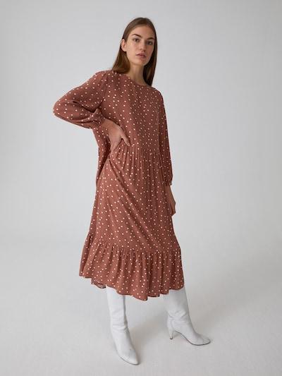 EDITED Kleid 'Inola' in braun, Modelansicht