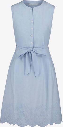 Betty & Co Blusenkleid mit Knopfleiste in blau: Frontalansicht