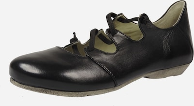 JOSEF SEIBEL Slipper in dunkelbeige / schwarz, Produktansicht