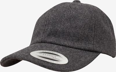 Flexfit Dadcap 'Melton Wool' in graumeliert, Produktansicht