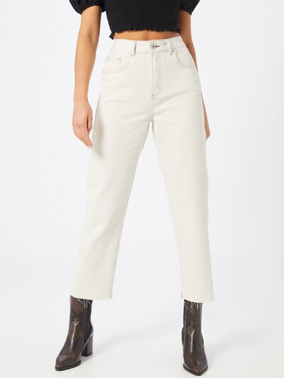 Cotton On Jeans 'STRAIGHT LEG JEAN' in de kleur Offwhite, Modelweergave