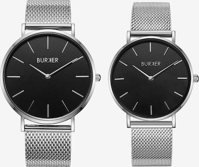 BURKER Watches Uhr 'Adam & Eve Silver Black' in silber, Produktansicht