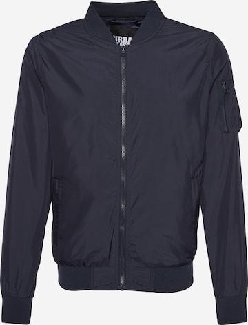 Urban Classics Kurtka przejściowa 'Light Bomber Jacket' w kolorze niebieski