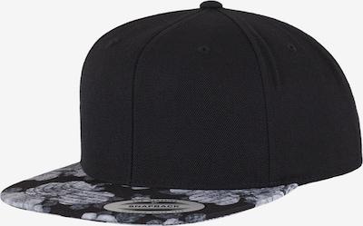 Flexfit Snapback 'Roses' in grau / schwarz, Produktansicht