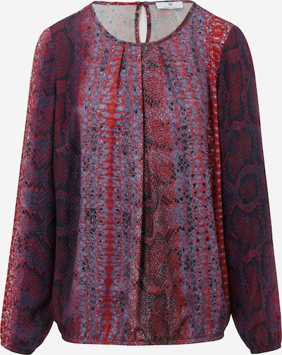 Peter Hahn Bluse in lila / rot, Produktansicht