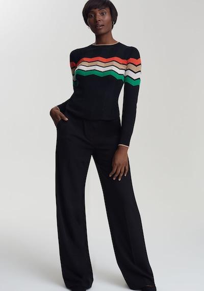 Long Tall Sally Anzughose Mix & Match für große Frauen in schwarz, Modelansicht